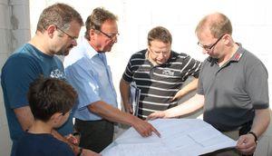 Bauteam Husmann august 2013 feinschliff an details ortsverein sulingen